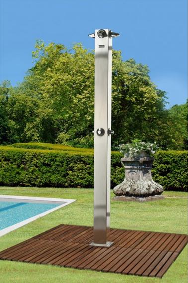 Agrega una ducha para jard n a tu espacio - Duchas para jardin ...